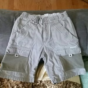 Columbia khaki shorts, Boy, YS